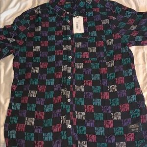Wesc Wasted Youth S/S Button Up
